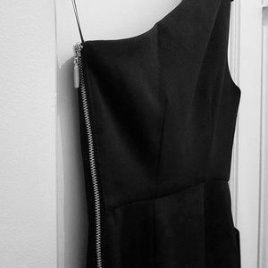 NWT Express One Shoulder Dress - Size 0